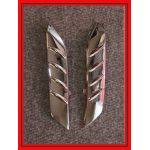 ZX14 Chrome Fender Fins