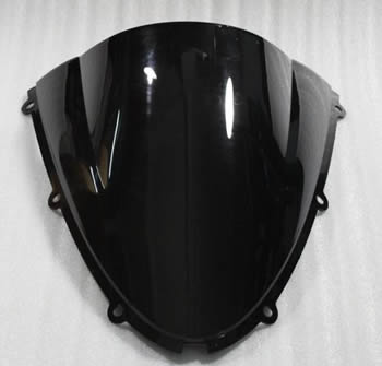 Windscreen Color Dark Smoked Style R series Kawasaki ZX 6R 2007 2008 | ID KW | 4011DS