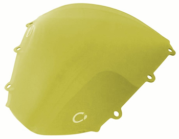 Windscreen Color Yellow Style OEM replacement Honda CBR1000RR 2004 2007 | ID TXHW | 105Y