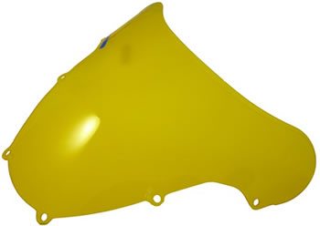 Windscreen Color Yellow Style OEM replacement Suzuki GSX R600 2001 2003 Suzuki GSX R750 2000 2003 Suzuki GSX R1000 2001 2002 | ID TXSW | 201Y