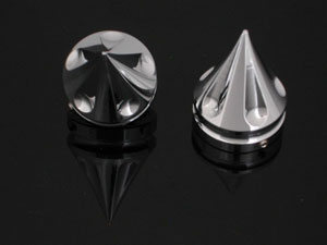 Yamaha Spiked Fork Cap (Chrome) 24mm Hex | ID 1275